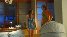 Евгения Крегжде в пижаме