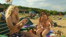 3. Маруся Зыкова и Евгения Крегжде знакомятся с парнями на пляже – Даёшь молодёжь!
