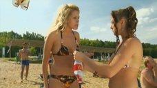 7. Маруся Зыкова и Евгения Крегжде знакомятся с парнями на пляже – Даёшь молодёжь!