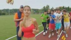 9. Секси Юлия Паршута в коротких шортиках – Даёшь молодёжь!