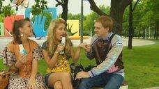 7. Маруся Зыкова соблазнительно облизывает мороженое – Даёшь молодёжь!