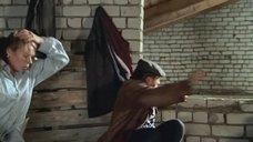 6. Екатерина Редникова в рубашке без белья – Стерва (2009)