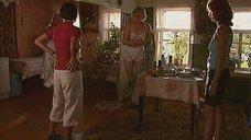 Анна Уколова в белом белье