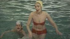 Ольга Матешко в купальнике