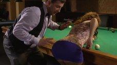 2. Сексуальное обучение Сары Окс игре в бильярд – Счастливый конец
