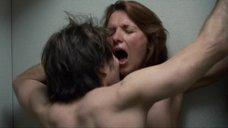 9. Секс с Элис Баррет в туалете – Удушье