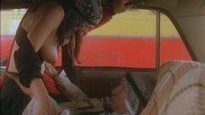 Секс с Алиной Власовой в машине