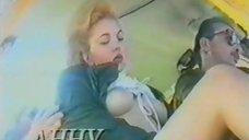 Секс с Анной Маховой в самолете