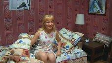 Татьяна Полосина в ночнушке