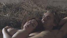 Секс с Марианной Шульц на сене