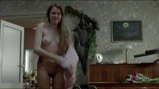 Абсолютно голая Марта Мазурек со свежими швами