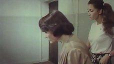 3. Молодая Ольга Кабо в футболке без бюстгальтера – Провинциалки