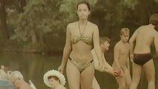 3. Ольга Кабо в купальнике на пляже – Провинциалки