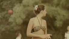 4. Ольга Кабо в купальнике на пляже – Провинциалки