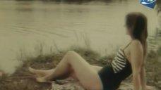Наталья Полищук в купальнике