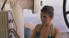 Людмила Николаева в купальнике