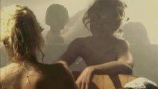 1. Татьяна Остап, Даша Чаруша и Снежана Гладнева парятся в бане – А зори здесь тихие... (2006)