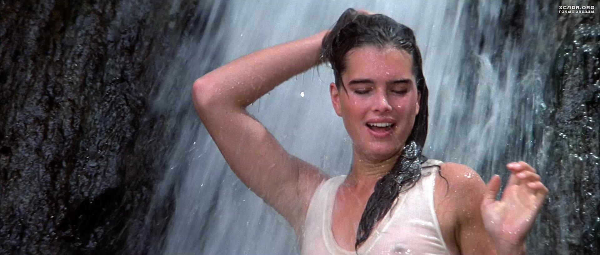 Мокрая Брук Шилдс у водопада – Сахара (1983) | XCADR.COM милла йовович фильмы