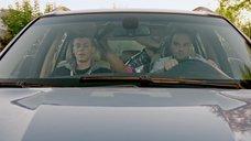 Секс с Екатериной Кабак в машине