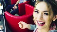 8. Анна Хилькевич демонстрирует сочное декольте в Instagram