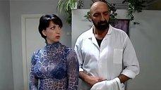 Алика Смехова в прозрачной блузке