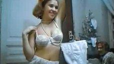 Галина Захурдаева в нижнем белье