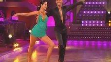 Страстный танец с Анной Ковальчук на теле-шоу «Танцы со звездами»