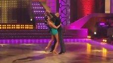 9. Страстный танец с Анной Ковальчук на теле-шоу «Танцы со звездами»