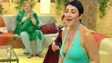2. Лолита Милявская в откровенном платье на передаче «Пусть говорят»