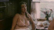 Эротическая сцена с Любовью Руденко в поезде