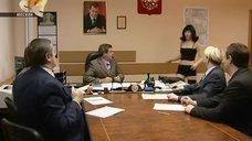 Ирина Медведева явилась в белье на собрание