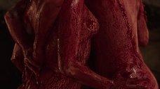 8. Групповой секс с Билли Пайпер и Джессикой Барден в крови – Страшные сказки