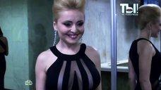 Анжелика Варум в откровенном платье в телепередаче «Ты не поверишь»