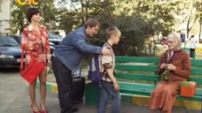 2. Длинноногая Ирина Медведева – 6 кадров