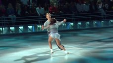 Ирина Медведева светит попку на шоу «Ледниковый период»