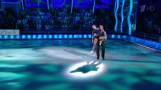Чувственная Ирина Медведева на шоу «Ледниковый период»