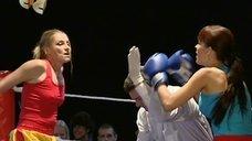 Галина Данилова без лифчика на ринге