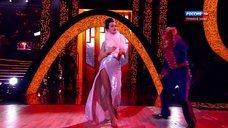 Стройные ножки Славы на телешоу «Танцы со звездами»