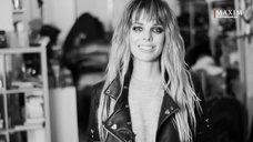 1. Сексуальная Анна Старшенбаум в фотосессии журнала Maxim