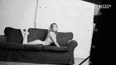 17. Сексуальная Анна Старшенбаум в фотосессии журнала Maxim