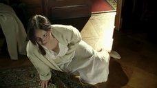 Ольга Будина в ночной рубашке