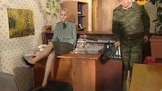 1. Интимная сцена с Яниной Студилиной – Солдаты