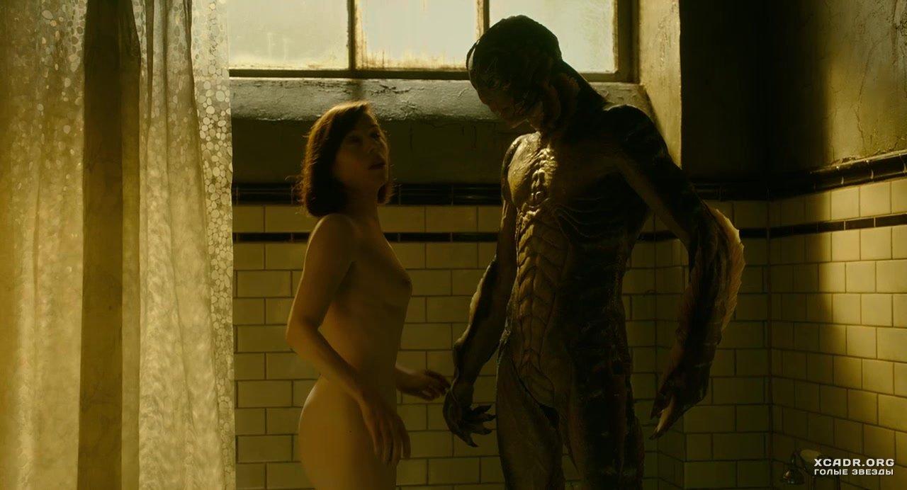 Nude movie scene woman in bathroom