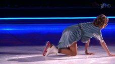 2. Обворожительная Кристина Асмус в шоу «Ледниковый период»