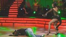 Наташа Королева в образе кошечки на теле-шоу «Танцi з зiрками 3»