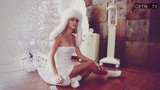 1. Симпатичная Анна Хилькевич в фотосессии для журнала Trend MAN