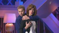Соблазнительная Анастасия Заворотнюк в телешоу «Настя»