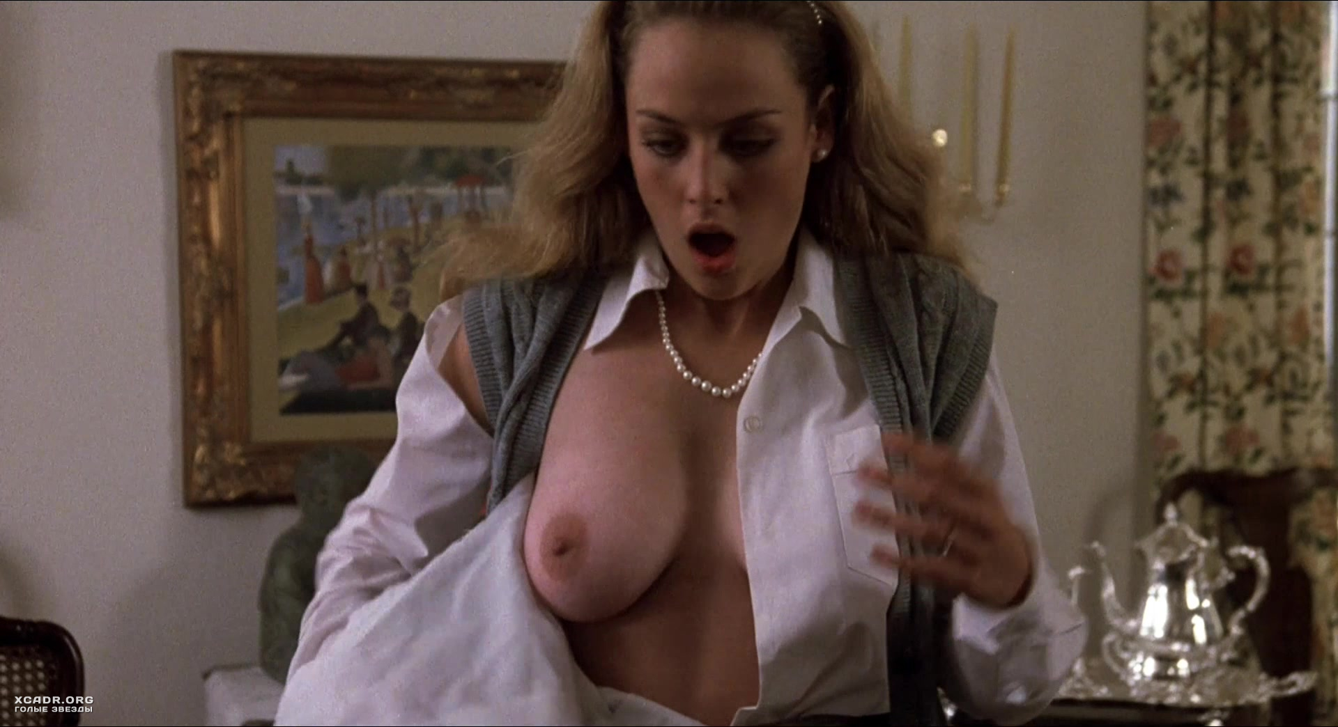 Virginia madsen nude sex scene in the hot spot picture