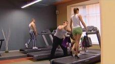 3. Анна Антонова в каблуках на беговой дорожке – Женская лига