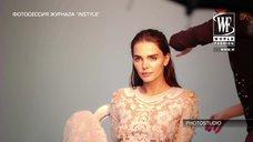 Елизавета Боярская засветила соски на фотосессии для журнала Instyle